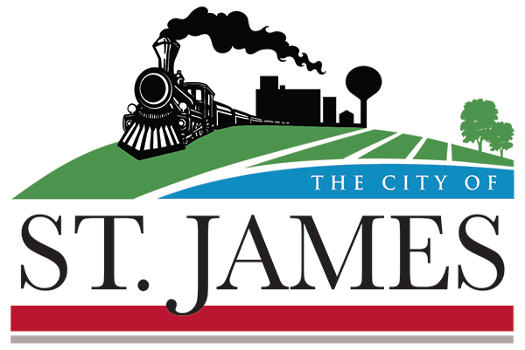 The City of St. James logo