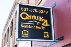 Century 21 Realty sign