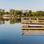 St. James Lake Fishing Dock