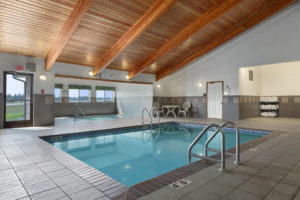 Super 8 indoor pool